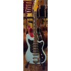Elgitarr Alden Quadar star powder blue