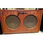 "Förstärkarhögtalare Framus 2*12"" 100W 8 ohm Bubinga Made in Germany, demoex."